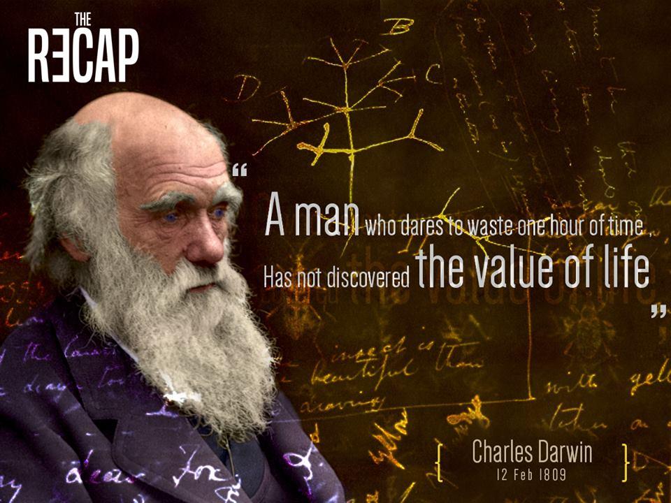 ذكرى ميلاد تشارلز داروين