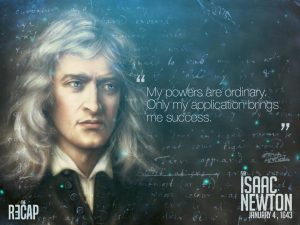 يوم ميلاد إسحق نيوتن