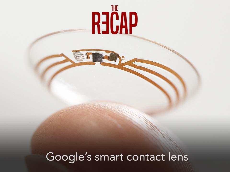 Google's smart contact lens