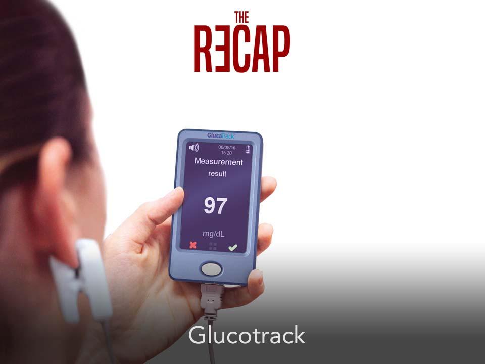 glucotrack جهاز قياس السكر بدون وخز عن طريق شحمة الأذن