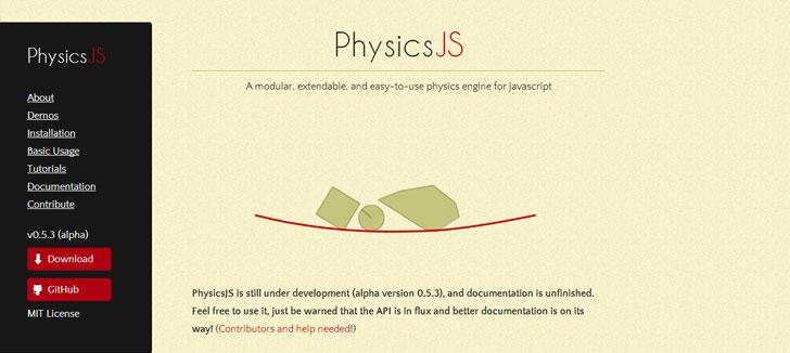 PhysicsJS