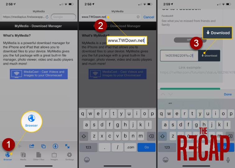تحميل الفيديو على هاتف ايفون 2